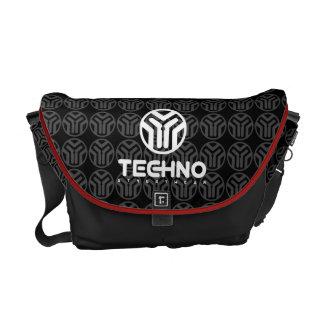 Bolsa Carteiro Techno Streetwear - logotipo - saco