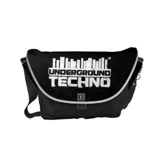 Bolsa Carteiro Techno subterrâneo - saco