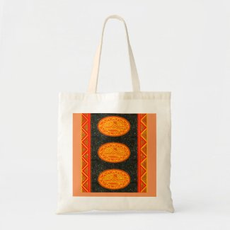Bolsa com Desenhos inspirados em Escudos Africanos