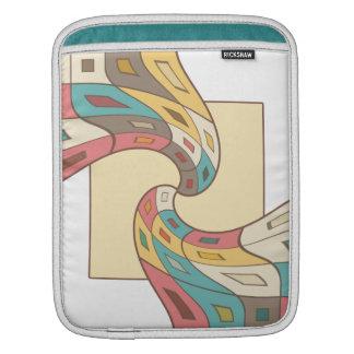 Bolsa De iPad Abstrato geométrico