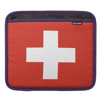Bolsa De iPad Bandeira nacional da suiça