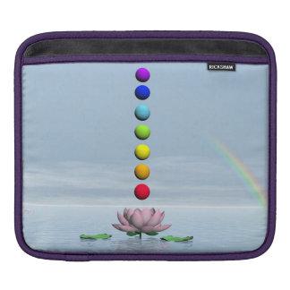 Bolsa De iPad Chakras e arco-íris - 3D rendem