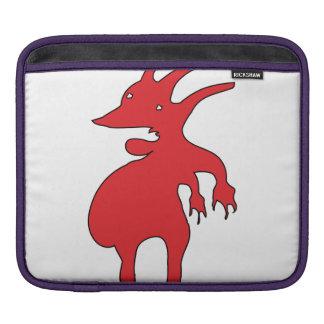 Bolsa De iPad Criatura grotesco isolada