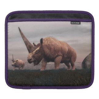 Bolsa De iPad Dinossauros do mamífero de Elasmotherium - 3D