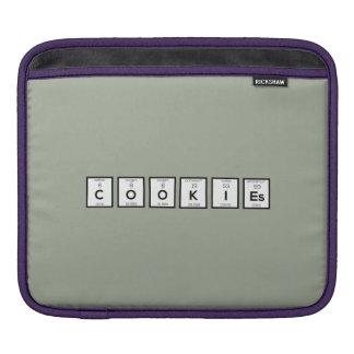 Bolsa De iPad Elemento químico Z57c7 dos biscoitos