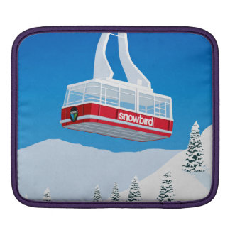 Bolsa De iPad Esqui do Snowbird