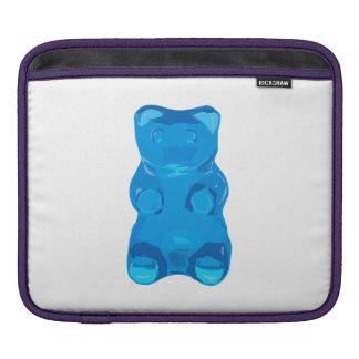 Bolsa De iPad Ilustração azul de Gummybear
