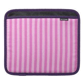 Bolsa De iPad Listras finas - cor-de-rosa e rosa escuro