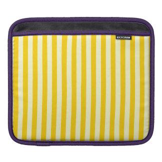 Bolsa De iPad Listras finas - luz - amarelas e amarelo escuro