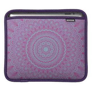 Bolsa De iPad Mandala geométrica da flor