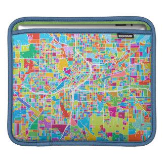 Bolsa De iPad Mapa colorido de Atlanta