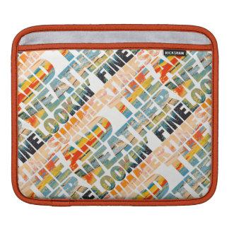 Bolsa De iPad Multa de Lookin do tempo do verão