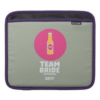 Bolsa De iPad Noiva Edimburgo da equipe Henparty 2017 Z513r