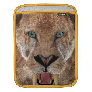 Bolsa De iPad Saber Ttiger ou Smilodon dentado
