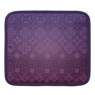 Bolsa De iPad Teste padrão antigo real luxuoso floral