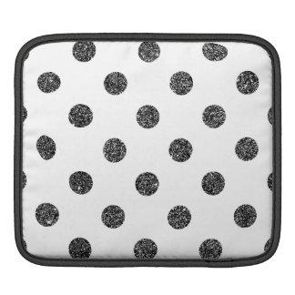 Bolsa De iPad Teste padrão de bolinhas elegante do brilho do