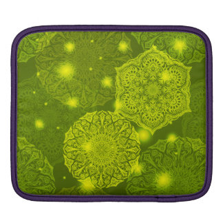 Bolsa De iPad Teste padrão luxuoso floral da mandala