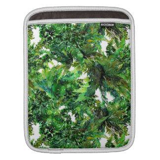 Bolsa De iPad Teste padrão verde da queda da floresta da