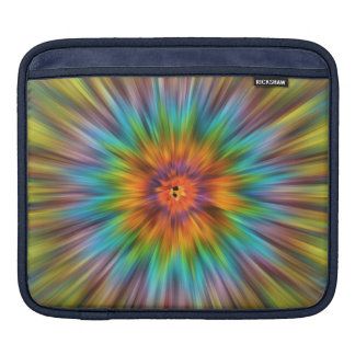 Bolsa De iPad Tintura colorida Starburst do laço