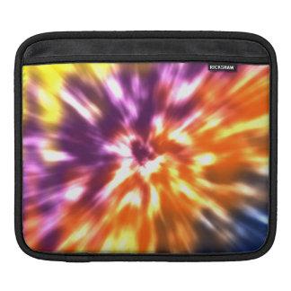 Bolsa De iPad Tintura retro Boho colorido do laço da paz do