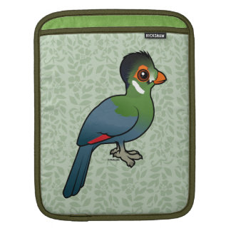 Bolsa De iPad Turaco Branco-cheeked de Birdorable