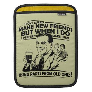Bolsa De iPad Velhos amigos engraçados