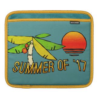 Bolsa De iPad Verão - por do sol perfeito da praia - telhado