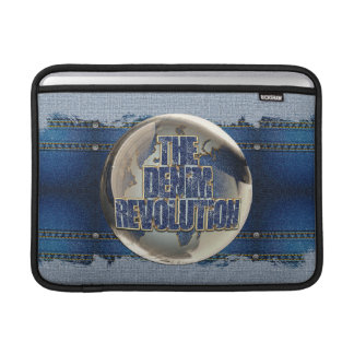 Bolsa De MacBook A revolução da sarja de Nimes
