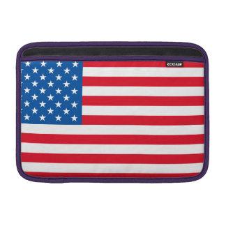 Bolsa De MacBook Air Bandeira dos Estados Unidos da bandeira dos EUA