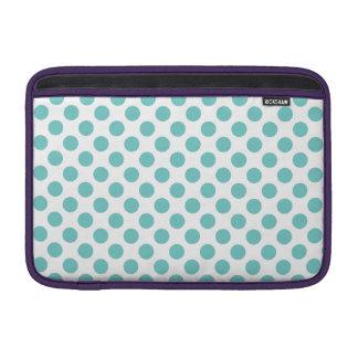 Bolsa De MacBook Air Bolinhas do Aqua