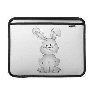 Bolsa De MacBook Air Clipart branco do coelho