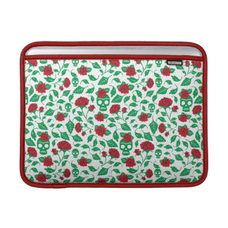 Bolsa De MacBook Air Crânios & rosas de Frida Kahlo |
