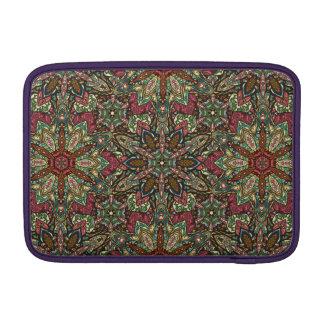 Bolsa De MacBook Air Design floral do teste padrão do abstrato da
