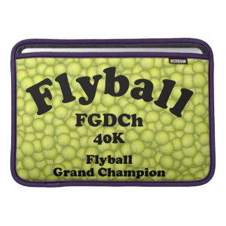 Bolsa De MacBook Air FGDCh, campeão grande de Flyball, 40.000 pontos