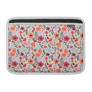 Bolsa De MacBook Air Flores da fantasia