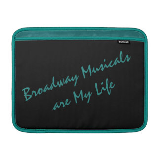 Bolsa De MacBook Air Luva de ar de MacBook dos Musicals de Broadway
