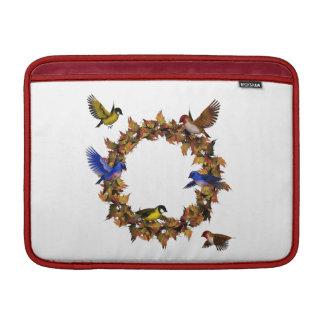 Bolsa De MacBook Air Pássaros do outono