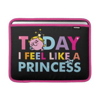 Bolsa De MacBook Air Senhorita pequena princesa | que eu sinto como uma
