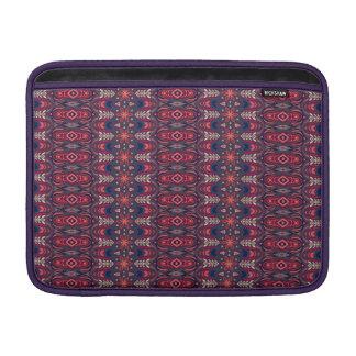 Bolsa De MacBook Air Teste padrão floral étnico abstrato colorido da