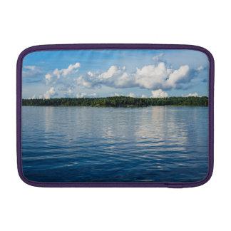 Bolsa De MacBook Arquipélago na costa de mar Báltico na suecia