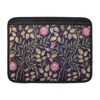 Bolsa De MacBook Arte floral Nouveau do Briar doce de William
