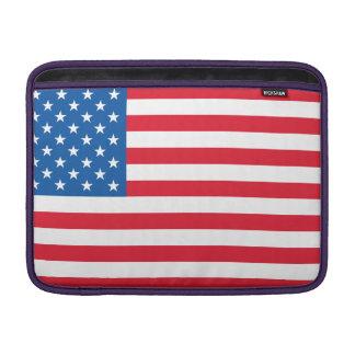 Bolsa De MacBook Bandeira dos Estados Unidos da bandeira dos EUA