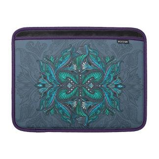 Bolsa De MacBook Corvo dos espelhos, sonhos, bohemian, shaman