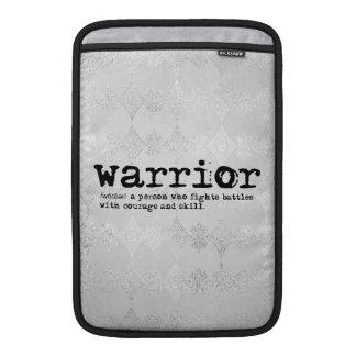 Bolsa De MacBook Definição do guerreiro