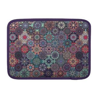Bolsa De MacBook Design abstrato colorido do teste padrão do
