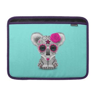 Bolsa De MacBook Dia cor-de-rosa do Koala inoperante do bebê