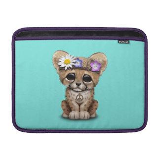 Bolsa De MacBook Hippie bonito de Cub da chita