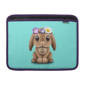 Bolsa De MacBook Hippie bonito do coelho do bebê