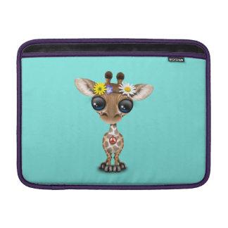Bolsa De MacBook Hippie bonito do girafa do bebê
