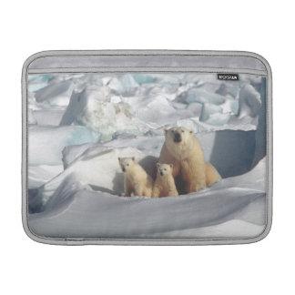 Bolsa De MacBook Luva ártica de Macbook dos animais selvagens de